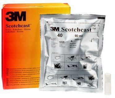 3M Scotchcast Hars polyurethaan 40C 470gr/ 426cc, 1 per stuk