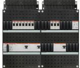 ABB HAF Installatiekast 330x440mm, 10-groepen 3-fase, 3xALS, HS 40A 4-polig, met beltrafo