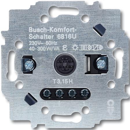Busch-Jaeger Comfortschakelaar relaissokkel inbouw