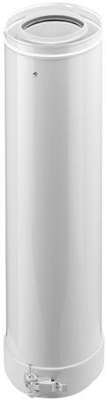 Burgerhout Concentrische  verlengpijp  80 - 125 mm inkortbaar
