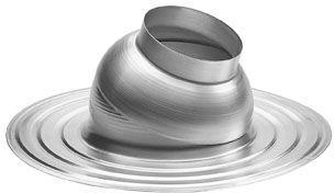 Burgerhout aluminium plakplaat met glijschaal 110 mm instelbaar 0-15 graden, hellend dak.