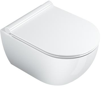 CAT SFERA TOILET WAND 50X35 GLANS WIT