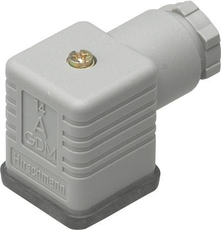 Danfoss connector 2 polig + aarde