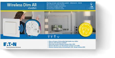 Eaton xComfort Go Wireless Dim All pakket