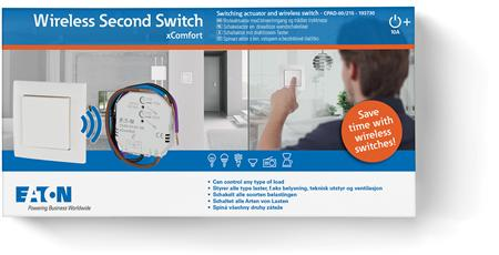 Eaton xComfort Go Wireless second switch pakket