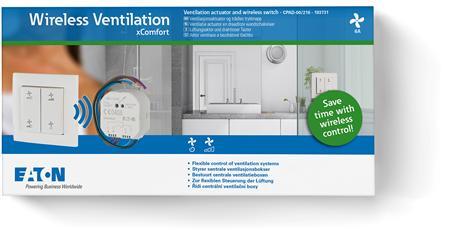 Eaton xComfort Go Wireless Ventilation pakket