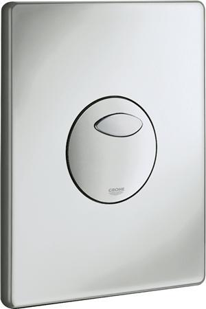 Grohe Solido eenknops mechanische bedieningsplaat spoelsysteem, kunststof, 197x156x24mm, matchroom