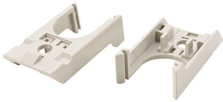 Beugels voor Han-Snap systeem voor montage van binnenwerken op een DIN-rail.