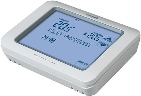Chronotherm Touch Modulation, klokthermostaat, Opentherm®, 7..31°C, wit, touchscreenbediening
