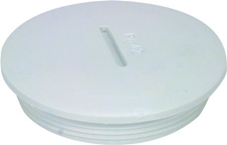 Jacob blindstop, M16 x 1,5mm, polyamide (PA), lichtgrijs, RAL 7035
