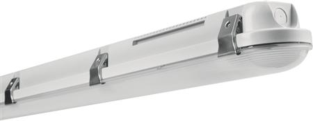 Ledvance armatuur, led, 39W/4000K, 4400lm, CRI80-89, bundel >80°, 220-240V AC wit, behuizing grijs, kunststof, lxbxh 1200x95x78mm