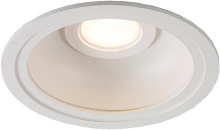 Solar Inverso 150 LITE LED downlight 10W/1000lm 4000K witte refl.70° lens + klem, inbouw (dxh) 150x100mm IP44, wit