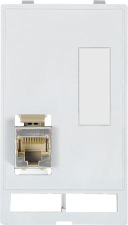 Murr Modlink MSDD Front panel-interface data connector inzet 1 × RJ45/45 and 9 pole. filler panel