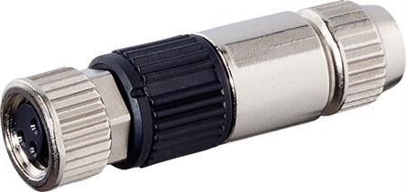 Murr MOSA M8 female recht field-wireabl Slimline, 3p, 0,14-0,34qmm