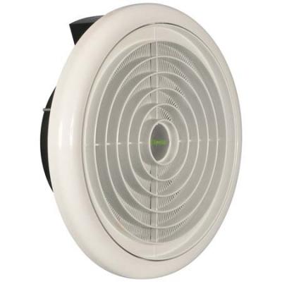 Xpelair Cx, muurventilator, 329m3/h, 230V, 34W, aansluitklem, lichtnet, hxb 45x352mm, wit IPX4