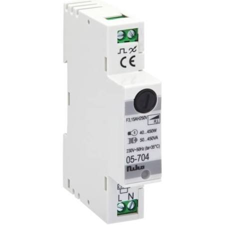 Modulaire dimmer faseaansijding (r,l) max. 450va