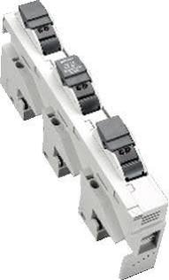 Wohner sokkel cilinderzekering railsysteem CC, 10x38 3-polig