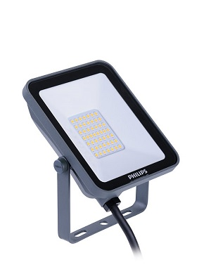 Philips Ledinaire schijnwerper mini floodlight LED 10W/3000K, 1000lm, CRI>80, stralingshoek 100°, 35.000uur, IP65