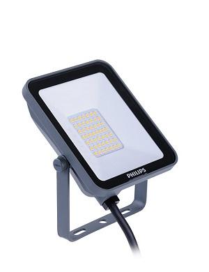 Philips Ledinaire schijnwerper mini floodlight LED 20W/3000K, 2000lm, CRI>80, stralingshoek 100°, 35.000uur, IP65