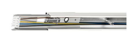 Norton Type NLS-R Rail. Geheel van wit gemoffeld verzinkt plaatstaal