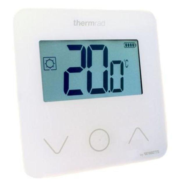 Thermrad RF(draadloos) Digitale thermostaat met Batterijen (2xAA), nieuw model met 3