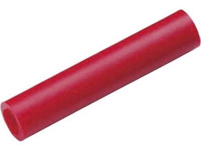 Cimco geïsoleerde kabel stootverbinder voor kabel van 1,5 tot 2,5mm, schoen 25mm, klem 2,3 x 15mm, blauw, koper vertind, EN 13600