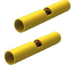 Draadbereik: 2,6-6,6 mm2, kleur geel