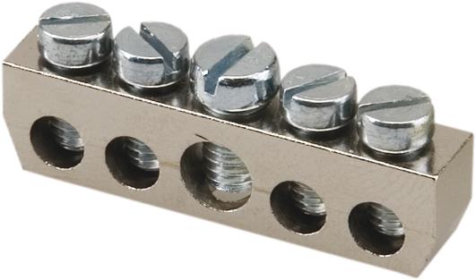 ABB HAF Aansluitblok 4x10mm2 en 1x16mm2