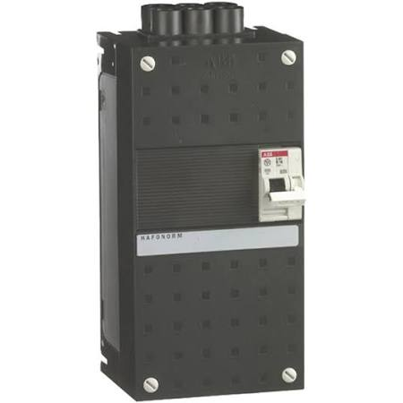 ABB HAF Installatiekast 220x110mm, 1-groepen 1-fase, 1 direct