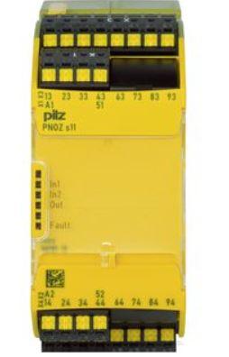 Veiligheidsrelais contactuitbreiding, 24VDC, PNOZsigma S11 C, 8 veiligheidscontacten met veerklemmen