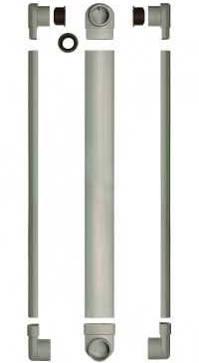 Slim Tube afvoerbuis is slechts 20 mm diep, u dient dus veel minder diep te hakken en te frezen.
