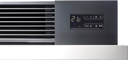 Vasco Niva ventilo ventilatorconvector, wandopbouw, geschikt voor verwarming en koeling, 0950x0610 0600