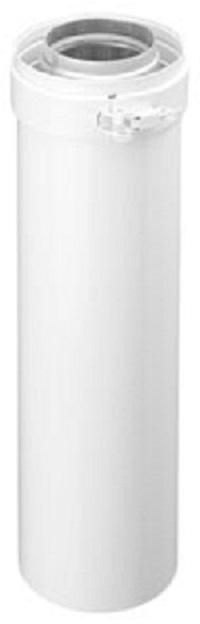Burgerhout Concentrische  verlengpijp  80 - 125 mm lengte 2000 mm