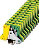 Phoenix Contact aardklem met schroefaansluiting, doorsnede: 0,2 - 2,5 mm2, AWG: 24 - 12, dikte: 7,5 mm, kleur: groen-geel