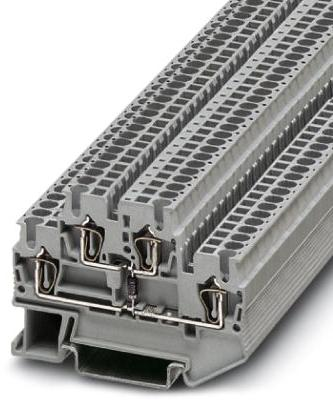 Phoenix Contact componentenaansluitklem, aansluitmethode: veerdrukaansluiting, doorsnede:0,08 mm² - 4 mm²
