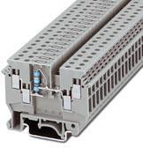 Phoenix Contact een-etageklem met aan beide zijden dubbele aansluiting, voor het solderen van een weerstand