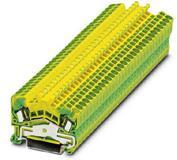 Phoenix Contact aardklem met veerdrukaansluiting, doorsnede: 0,08-2,5 mm2, dikte: 5,2 mm, kleur: groen-geel