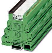Phoenix Contact PLC-INTERFACE, basisklem PLC-BSP.../21 met veerdrukaansluiting en steekbaar miniatuurrelais met vermogenscontact