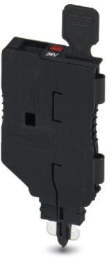 Phoenix Contact zekeringssteker met lichtindicatie voor 12-30 V DC, 0,35-0,95 mA, breedte: 5,2 mm, kleur: zwart
