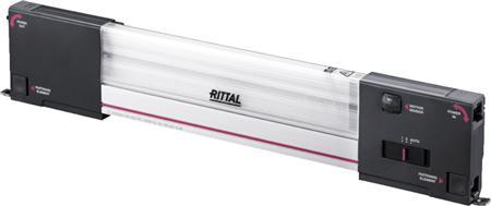 Rittal SZ systeemverlichting LED, 100-240V, B=437mm, 1200 lumen, zonder aansluitkabel, RAL7016, bewegingsmelder