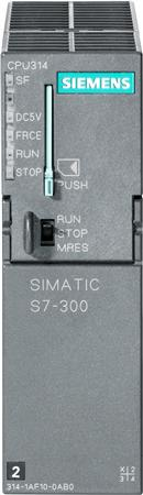 SIMATIC S7-300, CPU 312 CPU WITH MPI INTERFACE, INTEGRATED 24 V DC POWER SUPPLY 32 KBYTE WORKING MEM
