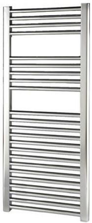 Thermrad Basic-4 handdoekradiator 1172 x 500mm, chroom. Aansluitingen 4x 1/2
