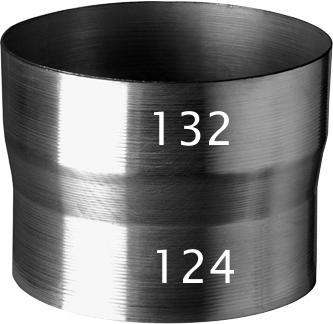 Ubbink aluminium verloop 132-124