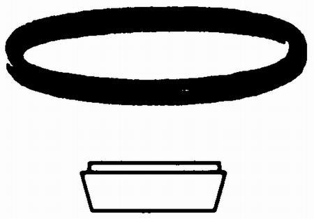 Viega rubber dichtingsring 50mm voor een bekersifon.