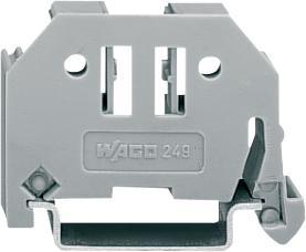 Wago schroefloze eindklem 6 mm breed  6mm²