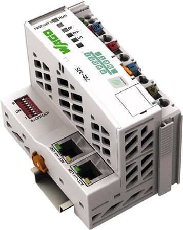PROFINET IO advanced fieldbus coupler; 2-Port-Switch; 100 Mbit/s; digital, analog and complex signals