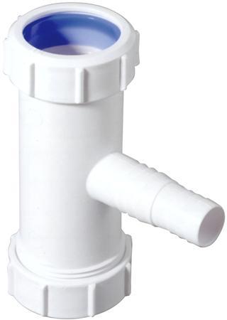 Walraven macAlpine t-stuk voor afwasmachine 40mm knel